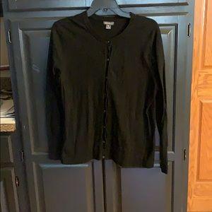 Women's Eddie Bauer cardigan sweater size XL.